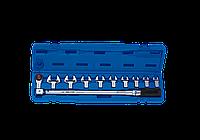 Ключ динамометрический в наборе со сменными насадками 40-200НМ KING TONY 345202D11MR (Тайвань)