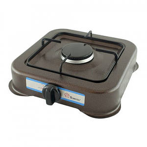 Плита таганок газовая настольная 1 конфорка Domotec MS 6601 150804