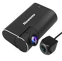 Видеорегистратор Newsmy C30 DUAL HD, ADAS, для Андроид магнитол
