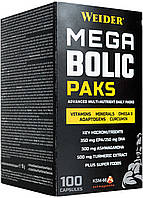 Витамины WEIDER MEGA BOLIC PAKS 100 Capsules