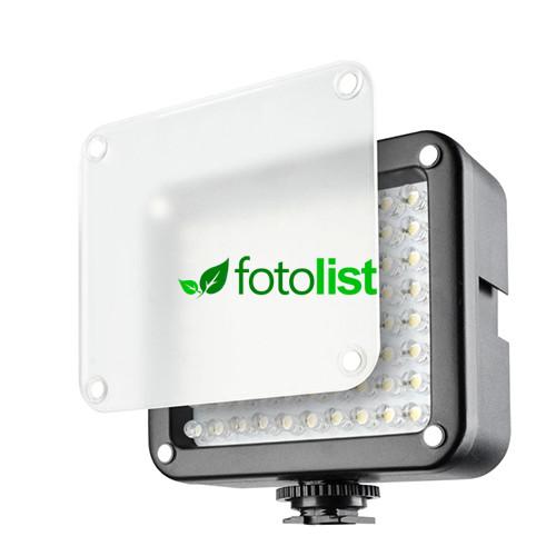 Накамерный видеосвет Lishuai LED-80B (с диммером)
