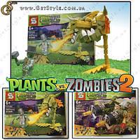 """Конструктор Plants vs. Zobie - """"Plants Hero"""" - 1 упаковка, фото 1"""