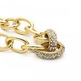 "Браслет с крупными звеньями ""Two Rings"", 2 цвета, фото 9"