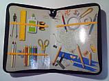Папка для труда А4 ламинированная на змейке МОТОЦИКЛ черная / папка для ручної праці на молнії, фото 2
