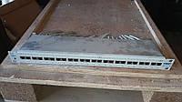 Патч панель для серверного коммутационного шкафа Tyco Electronics 24 port (white) № 9-1607