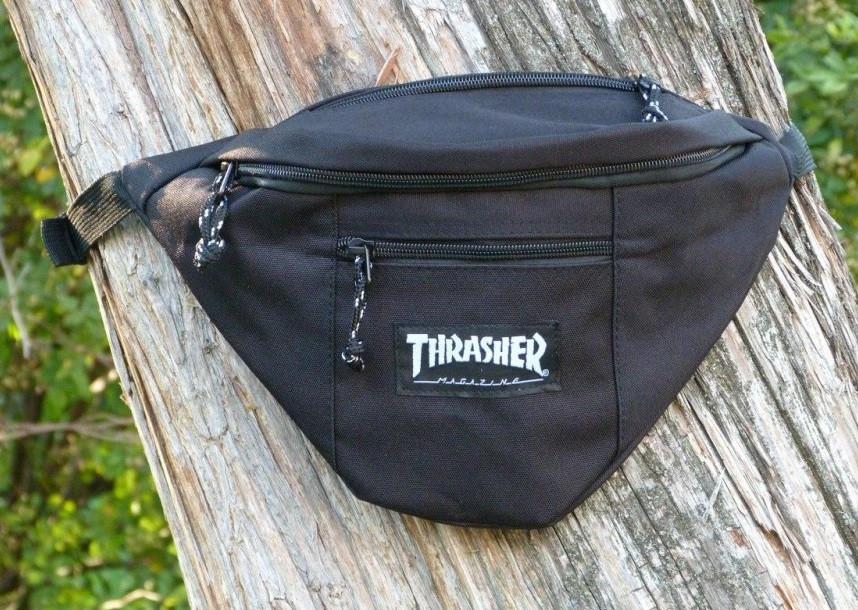 Поясная сумка Thrasher 20118 черная