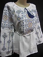 """Оригинальная  женская блуза  """"Веснянкова """", 56 р-ры, 750/670 (цена за 1 шт. +80 гр.)"""