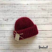 Женская шапка. Мохер.