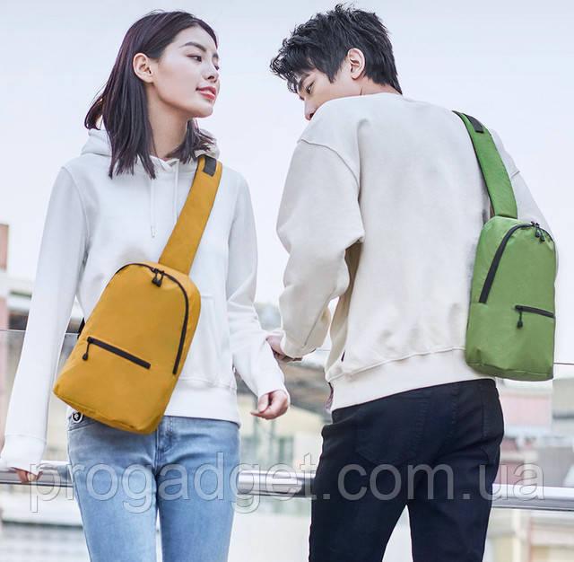 Рюкзак Z Bag Ultra Light Portable Mini Backpack девушка с парнем гуляют