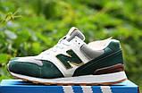 Кроссовки женские New Balance 996 20146 серо-зеленые, фото 3