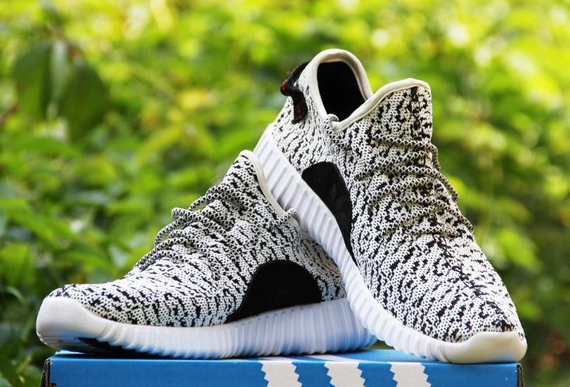 Кроссовки мужские Adidas Yeezy 20141 черно-белые