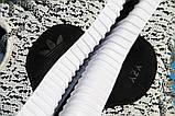 Кроссовки мужские Adidas Yeezy 20141 черно-белые, фото 5