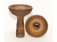 TRK19-1 Чаша глина большая под калауд, Чаша для Калауд Лотус, Чаша для больших кальянов