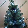 Новогодняя светодиодная гирлянда НА БАТАРЕЙКАХ РОСА 20LED 2м белый, фото 2