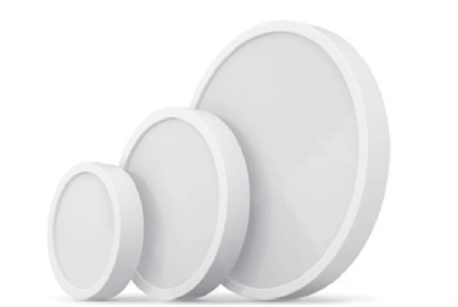 Светодиодный LED светильник 18Вт 5000К 1440Lm накладной, круглый Videx
