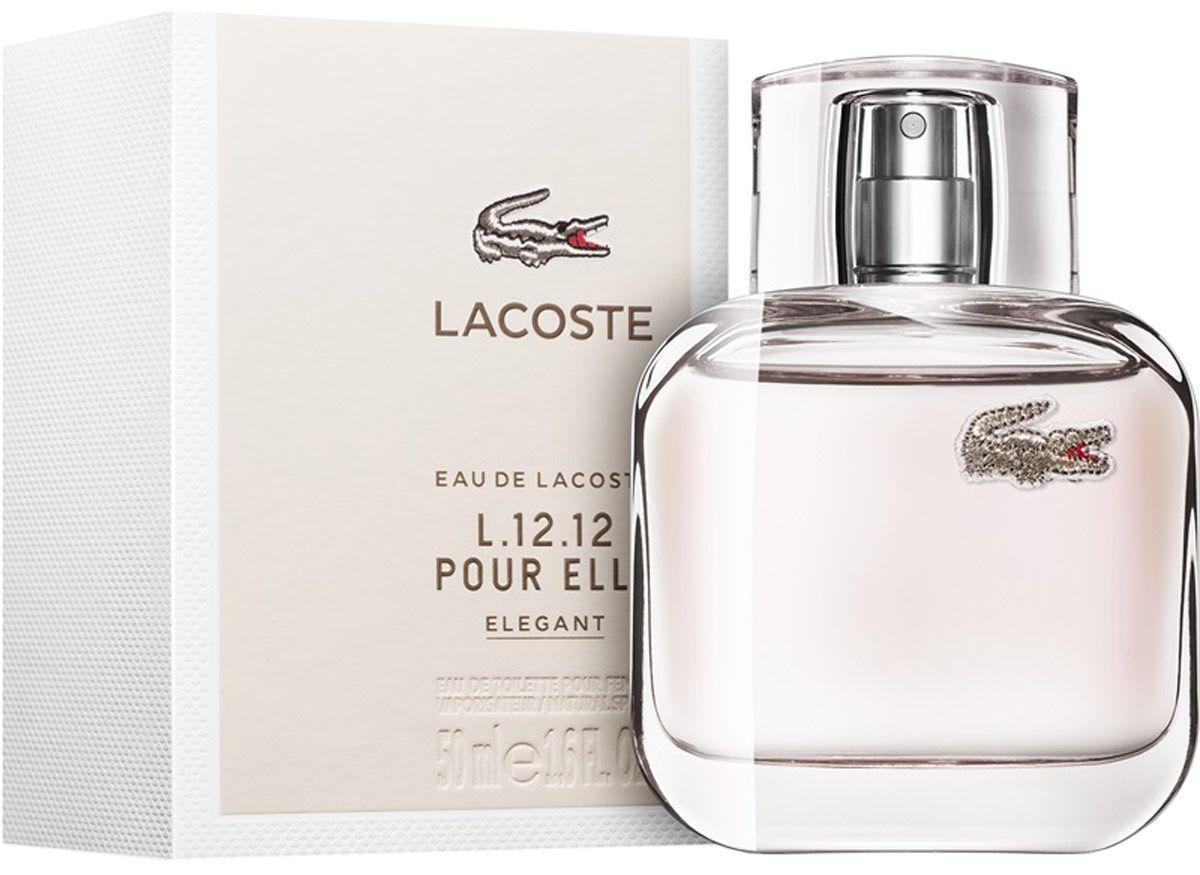 Парфюмированная вода женская (духи) Lacoste Eau De L.12.12 Pour Elle Elegant 100 мл