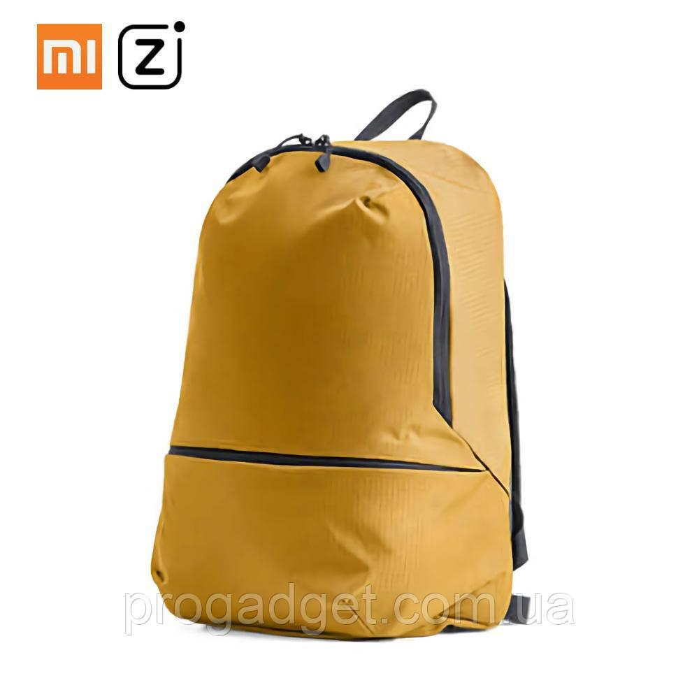 Xiaomi Z Bag Ultra Light Portable Mini Backpack 11L Yellow - Модный молодёжный рюкзак для стильных и дерзких!