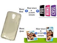 Чехол(бампер) для Samsung i9295 galaxy s4 active с рисунком(печать на чехле)