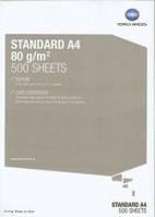 Бумага для офиса Konica Minolta Standard 80 г/м2, формат А4 (500 листов пачка)