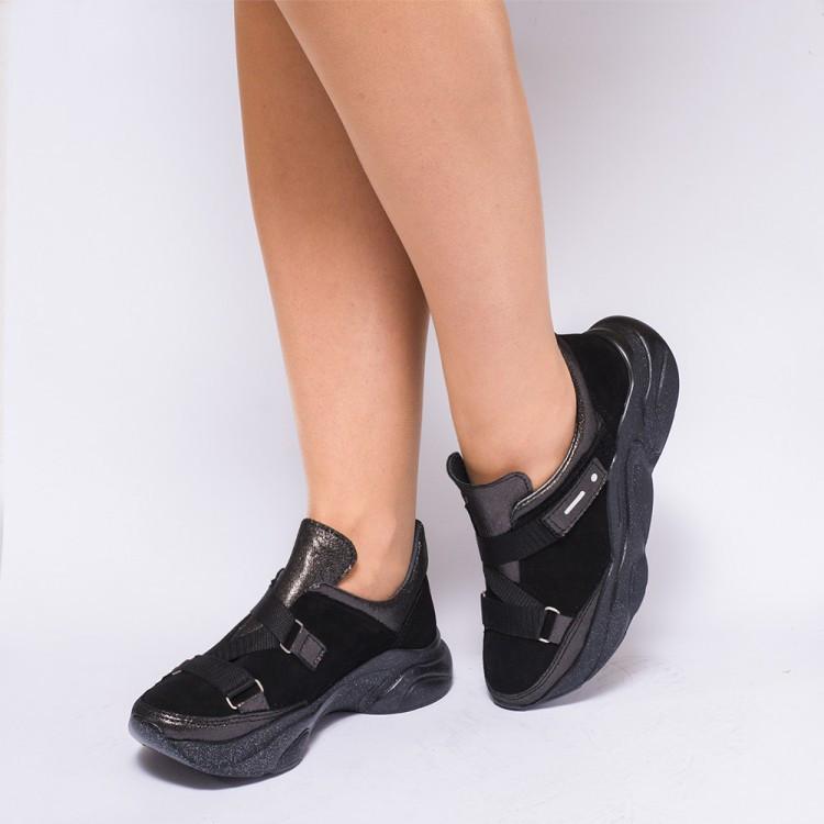 Кроссовки с ремешками 930-03