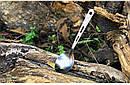 Туристическая титановая ложка TOAKS SLV-13 длина 165 мм. ложка из титана. Титанова посуда., фото 9