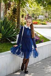 Детское школьное платье кил520