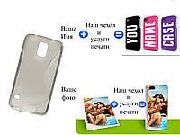 Чехол(бампер) для Samsung i9600G900 Galaxy S5 с рисунком(печать на чехле)