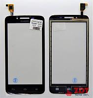 Сенсор для телефона Huawei y511 black (2000330B)