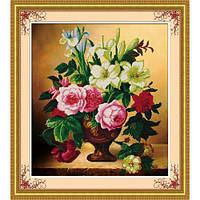 """""""Элегантные цветы"""" Набор для рисования камнями"""