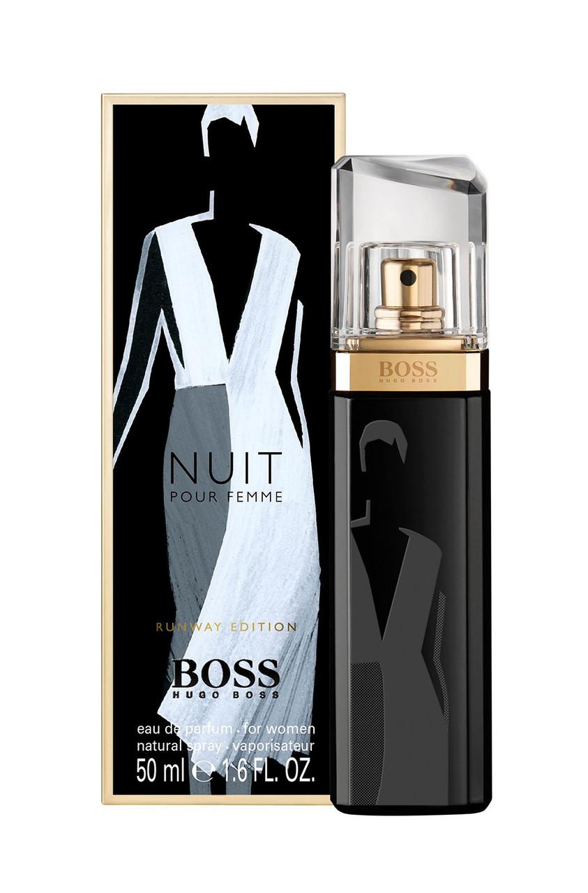 Парфюмированная вода женская (духи) Hugo Boss Boss Nuit Pour Femme Runway Edition 100 мл