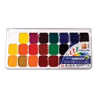 """Краски акварельные 24 цветов """"Классика"""" Луч"""