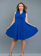 Женское платье Монро \ электрик
