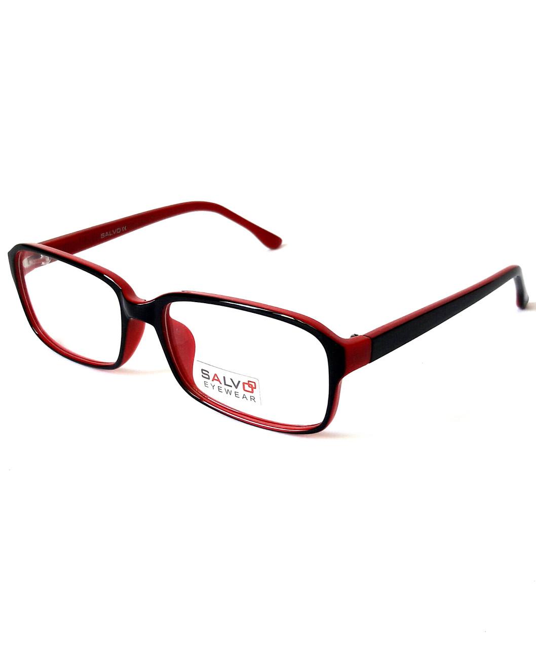 Оправа чорно-червона, глянсовий, жіноча, Salvo