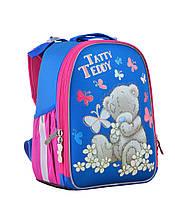Рюкзак шкільний каркасний 1 Вересня H-25 Me-to-you, 33.5*25*13.5 блакитно-рожевий (55366), фото 1