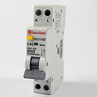 ElectroHouse ДИФ Автомат 16А 1P+N(1 модуль) 6kA  EH(x) 1x16SD