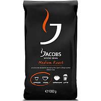 Кофе в зернах Jacobs Medium Roast, 1кг