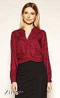 Женская блуза Asami Zaps бордового цвета, коллекция осень-зима 2019-2020