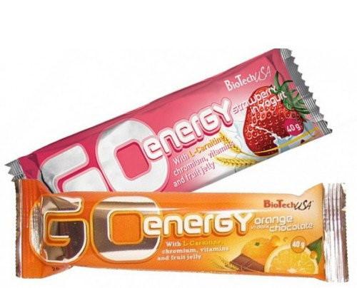 Батончик протеиновый Biotech Go Energy Bar 40 грам