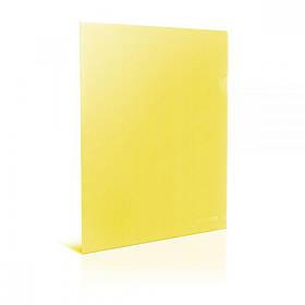 Папка куточок А4 жовта E31153-05