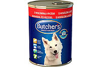 Butcher`s Basic паштет говядина с рисом, 390 г
