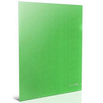 Папка куточок А4 зелена E31153-04