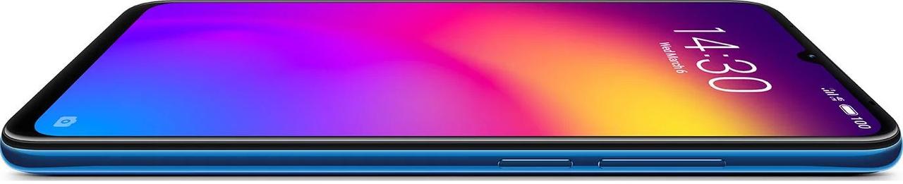 Глобальная версия Meizu Note 9 Blue 4/64+подарки противоударный чехол и защитная пленка