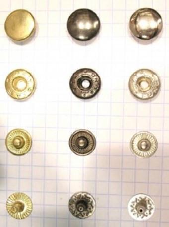 Кнопка 54 (12,5мм)  металл