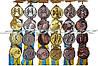 Медаль с видами спорта (волейбол, баскетбол, пинг-понг, футбол, бокс, карате, гимнасика, бег, плавание, и тд)