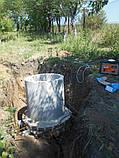 Кільця  бетонні КС10.9 каналізаційні АРМОВАНІ  1 метр, фото 7