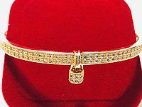 Браслет кольцо Xuping с фианитами
