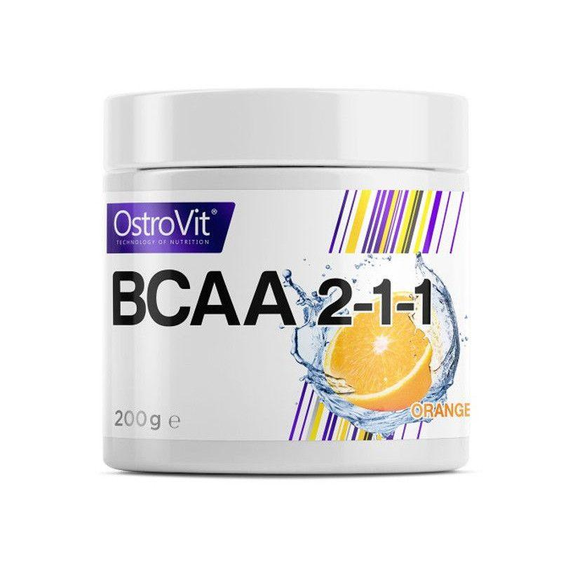 Аминокислоты БЦАА OstroVit BCAA 2:1:1 200 грам