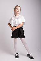 Школьные шортики для девочки, фото 1