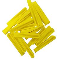 Клинья желтые пластмассовые №3