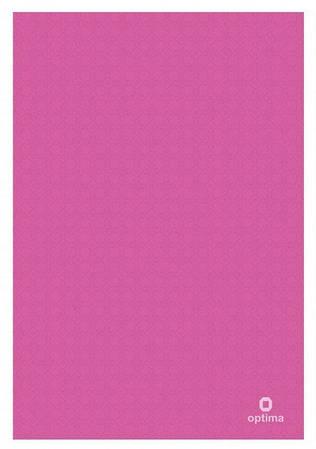 Папка куточок А4 180 мкм рожева O35120-09